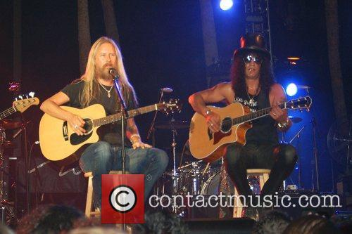 Jerry Cantrell and Slash 1
