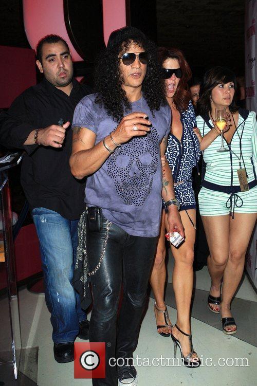 Slash Slash's Birthday Concert at The Revolution Lounge...