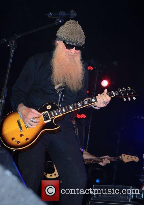 Billy Gibbons Slash's Birthday Concert at Bare Pool...