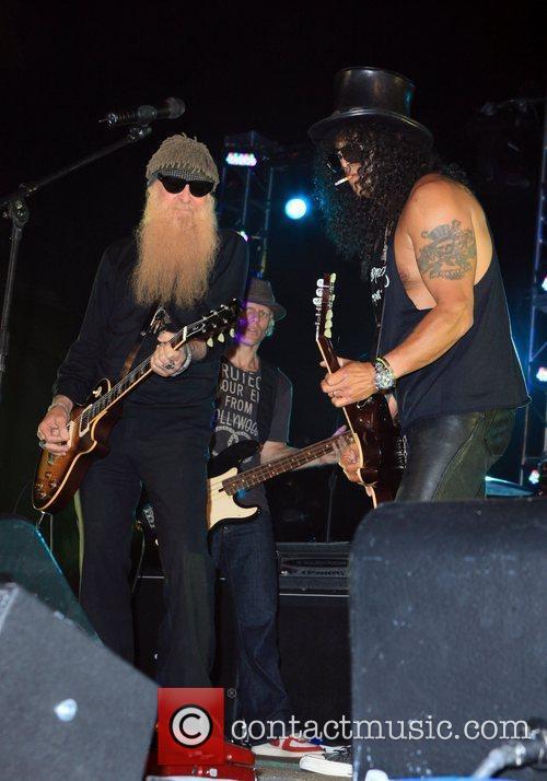 Billy Gibbons and Slash Slash's Birthday Concert at...