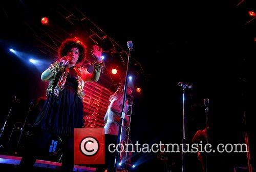 Sneaky Sound System perform at the Queensbridge hotel