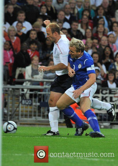 Gordon Ramsay and Alan Shearer Soccer Aid charity...