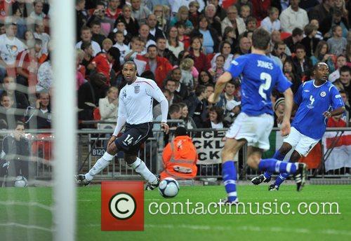 Soccer Aid charity football match held at Wembley...