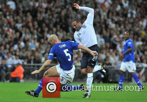 Jaap Stam Soccer Aid charity football match held...