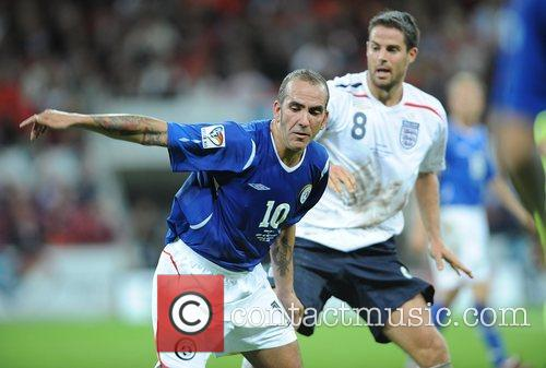 Paolo Di Canio and Michael Owen Soccer Aid...