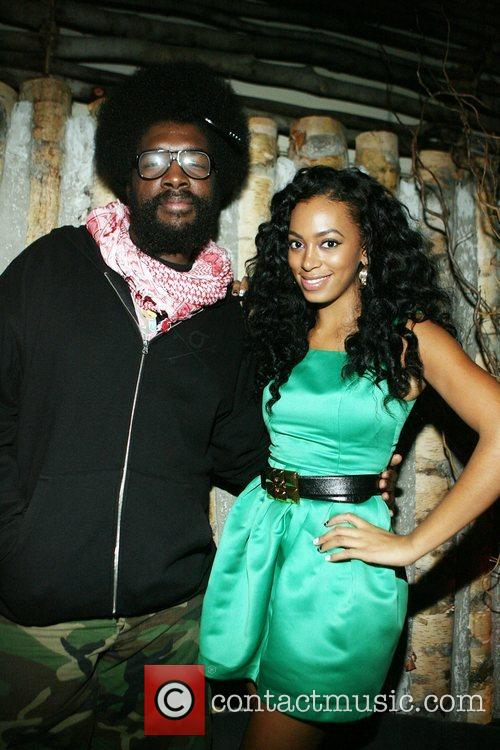 The New York album release party for Solange...