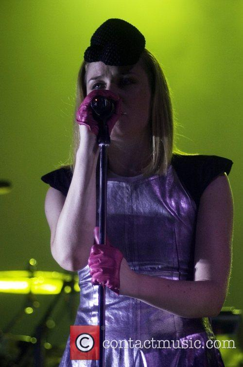 Performing live at Sonar Advance Music Festival 2008.