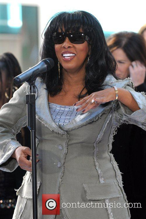 Donna Summer  performs live on The Today...