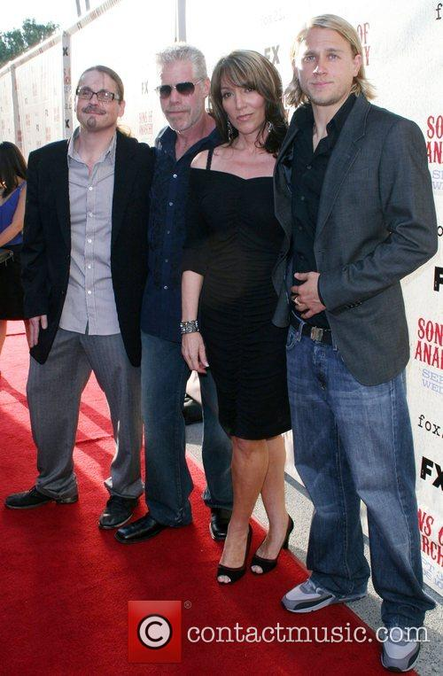 Cast FX premiere screening of 'Son of Arnachy'...