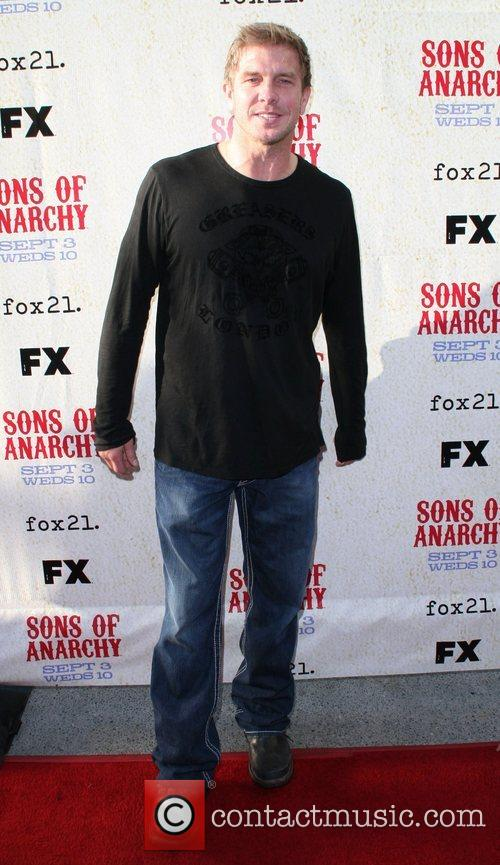 Kenny Johnson FX premiere screening of 'Son of...