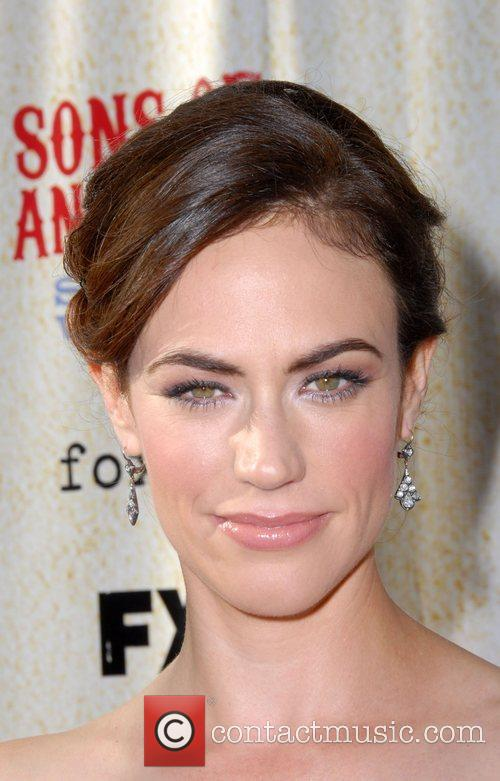 Maggie Siff FX premiere screening of 'Son of...