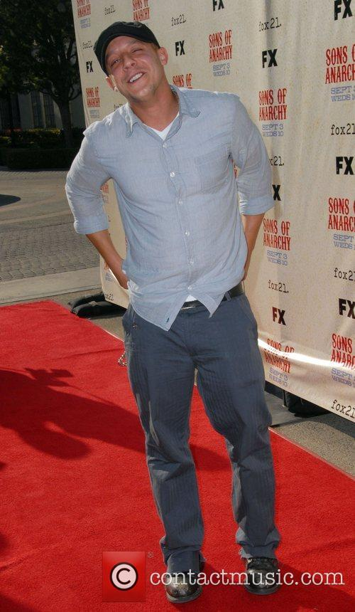 Theo Rossi FX premiere screening of 'Son of...