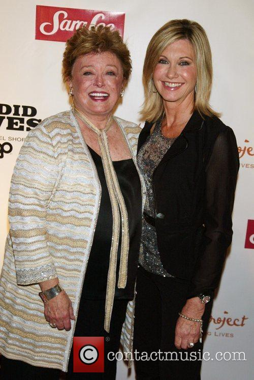 Rue McClanahan and Olivia Newton-John World Premiere of...