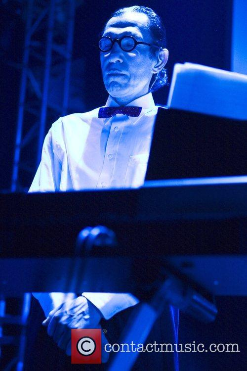 Ron Mael of Sparks performs 'Angst in my...