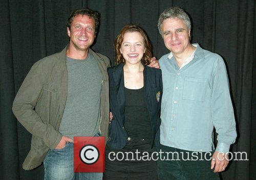 Raul Esparza, Elisabeth Moss and Neil Pepe...