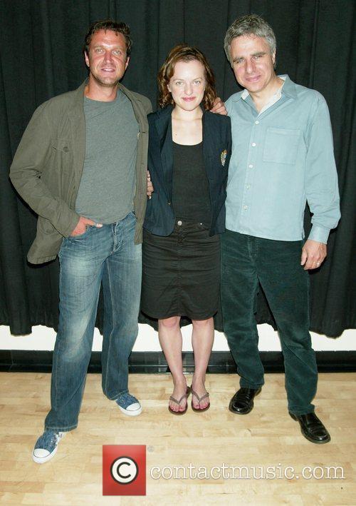 Raul Esparza, Elisabeth Moss and Neil Pepe 8