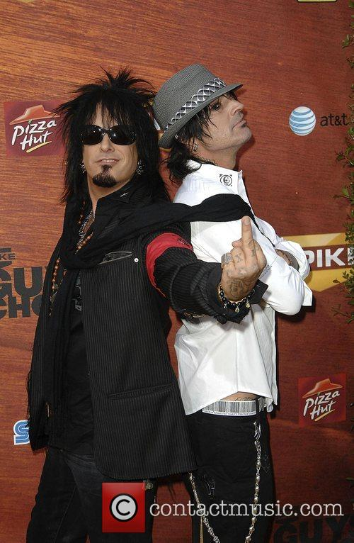Nikki Sixx and Tommy Lee 11