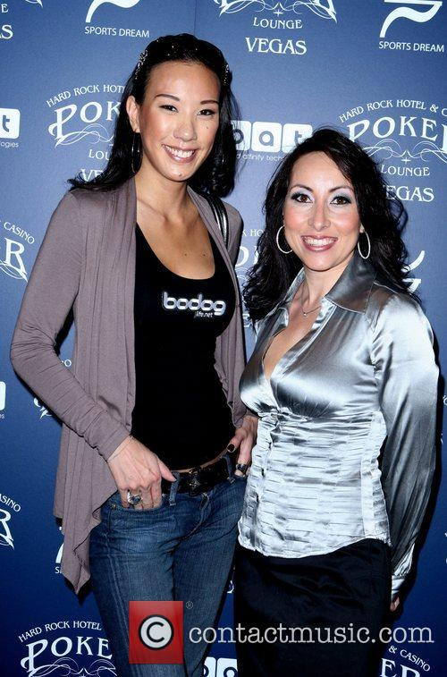 Attends the Sports Dream Celebrity Poker Tournament Old...