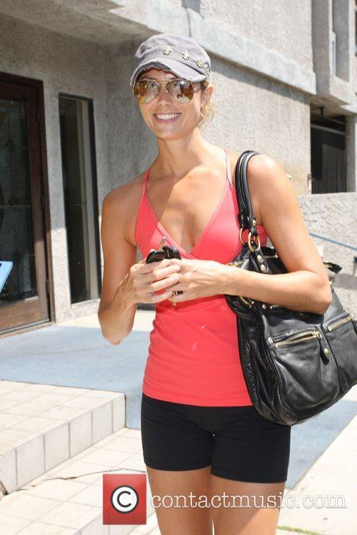 Stacey Keibler enjoys a day out in Beverly...