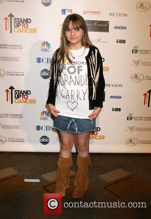 Abigail Breslin Stand Up 2 Cancer held at...