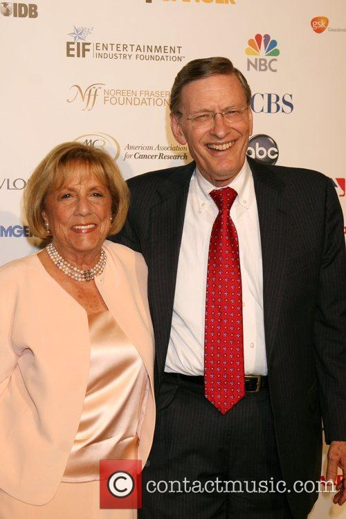 Allan H. 'Bud' Selig with his wife Suzanne...