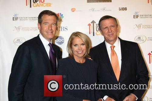 Brian Williams and Katie Couric 1