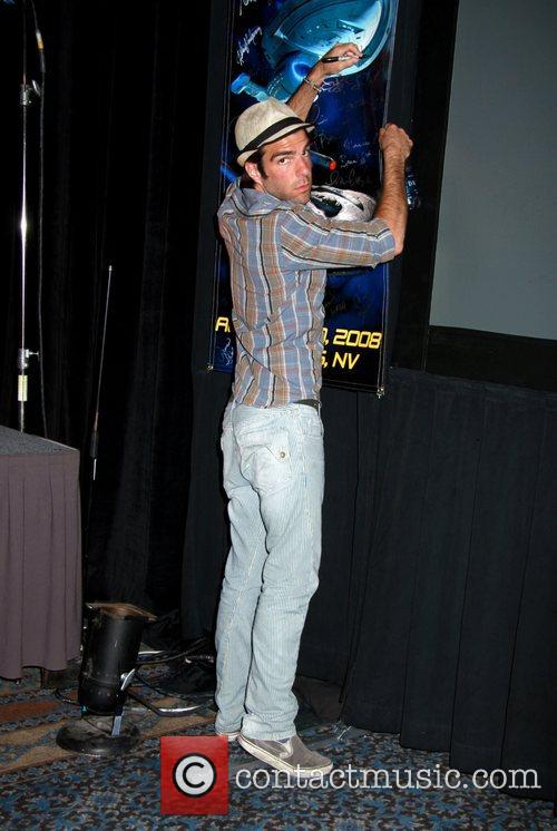Zachary Quinto, Las Vegas, Star Trek and Star Trek Convention 4