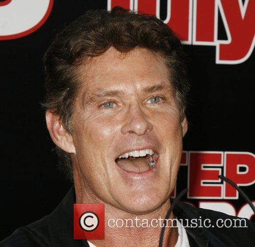David Hasselhoff Step Brothers Premiere- Arrivals held at...