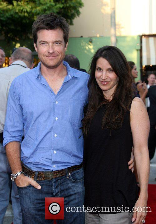Jason Bateman and Wife Step Brothers Premiere- Arrivals...