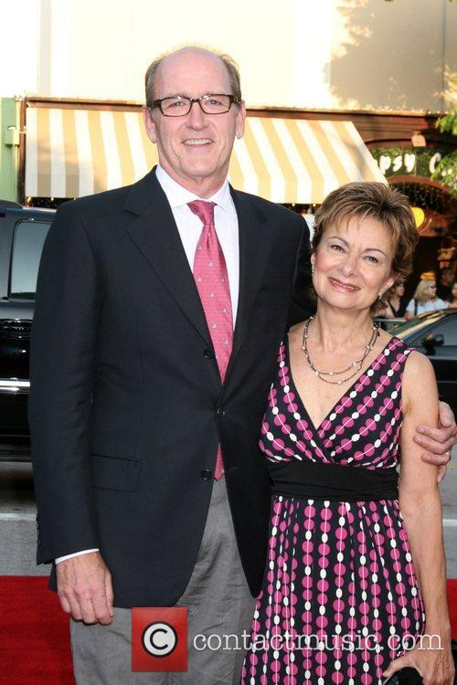 Richard Jenkins and wife Step Brothers Premiere- Arrivals...