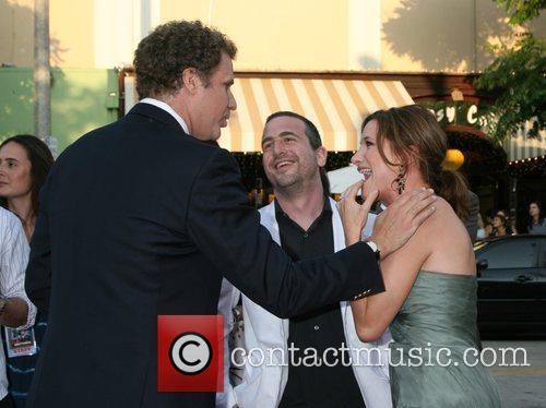 Will Ferrell greeting Kathryn Hahn and Husband Ethan...