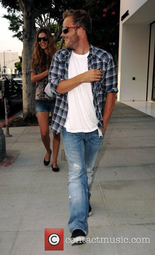Stephen Dorff and His Girlfriend 2