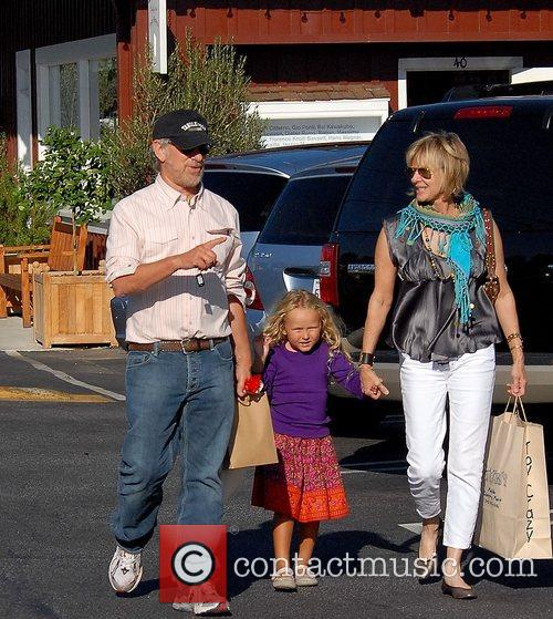 Steven Spielberg and Family Go Shopping In Brentwood 1