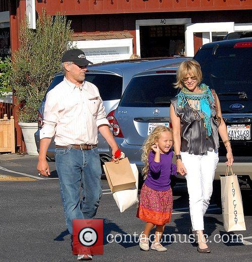 Steven Spielberg and Family Go Shopping In Brentwood 7