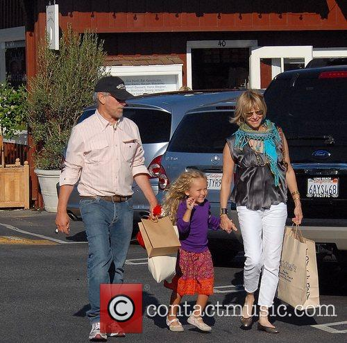 Steven Spielberg and Family Go Shopping In Brentwood 5
