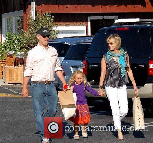 Steven Spielberg and Family Go Shopping In Brentwood 2