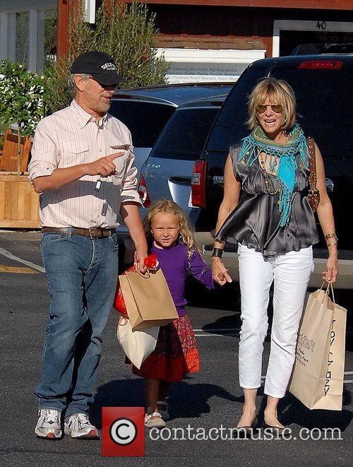 Steven Spielberg and Family Go Shopping In Brentwood 6