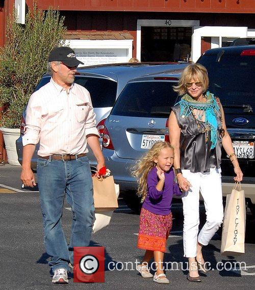 Steven Spielberg and Family Go Shopping In Brentwood 4
