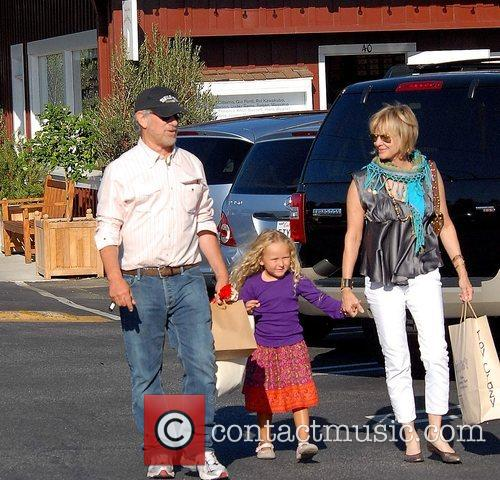 Steven Spielberg and Family Go Shopping In Brentwood 3