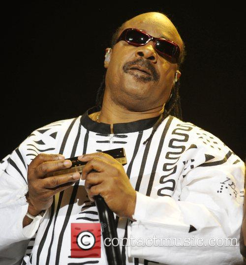 Stevie Wonder  performs at the O2 Arena...