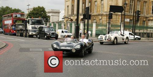 60th anniversary of Jaguar's XK range - photocall