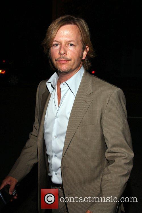 David Spade arriving at STK restaurant West Hollywood,...