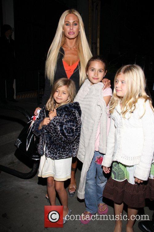 Shauna Sand with daughters Isabella Lamas, Alexandra Lamas...