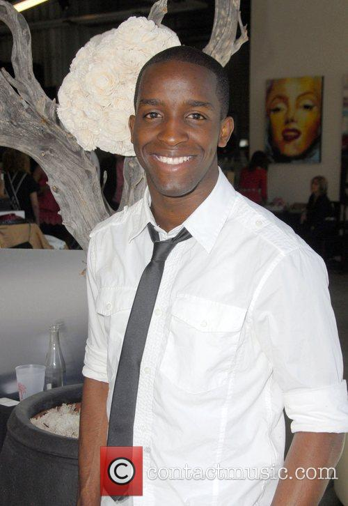 Elijah Kelley Celebrities at the SMG Style lounge...