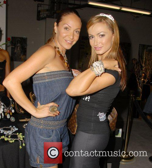 Guest, Karina Smirnoff Celebrities at the SMG Style...