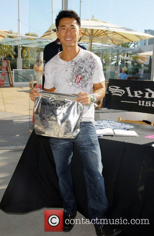 James Kyson Lee Celebrities at the SMG Style...