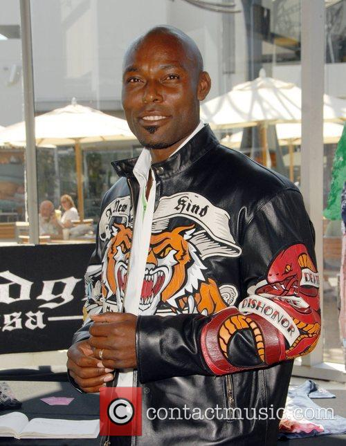 Jimmy Jean-Louis Celebrities at the SMG Style lounge...