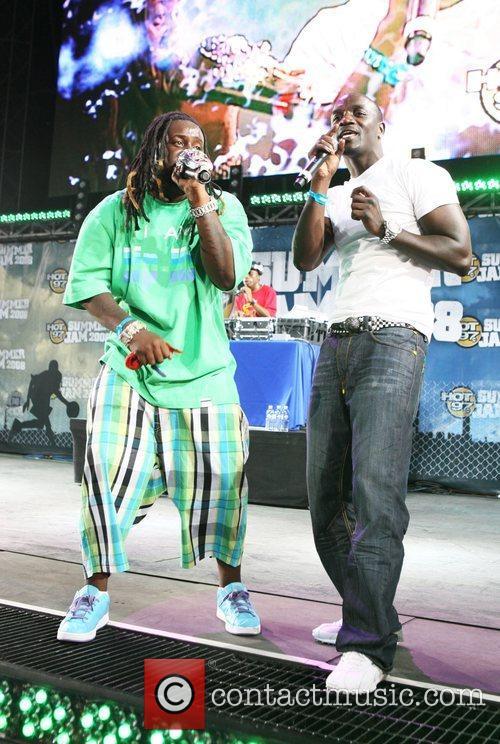 Akon and T-pain 3