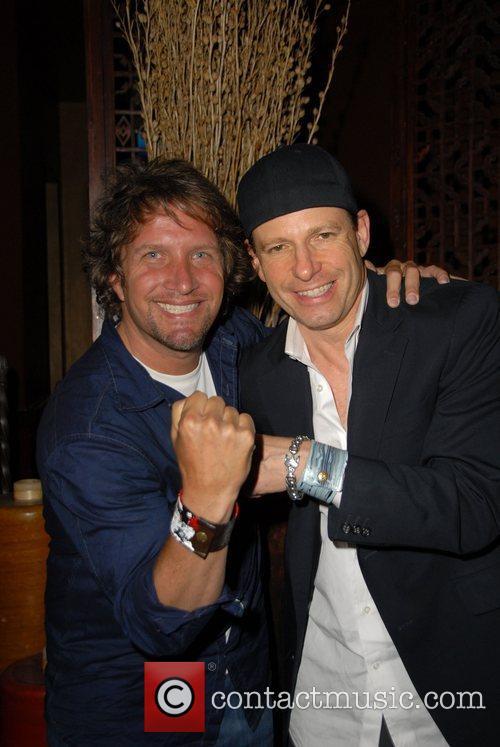 Daniel Maltzman and Mark Thompson Summer nights evening...
