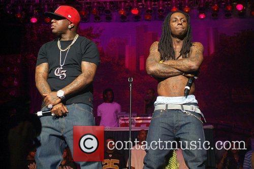 Lil Wayne and Birdman from Cash Money Millionaire...